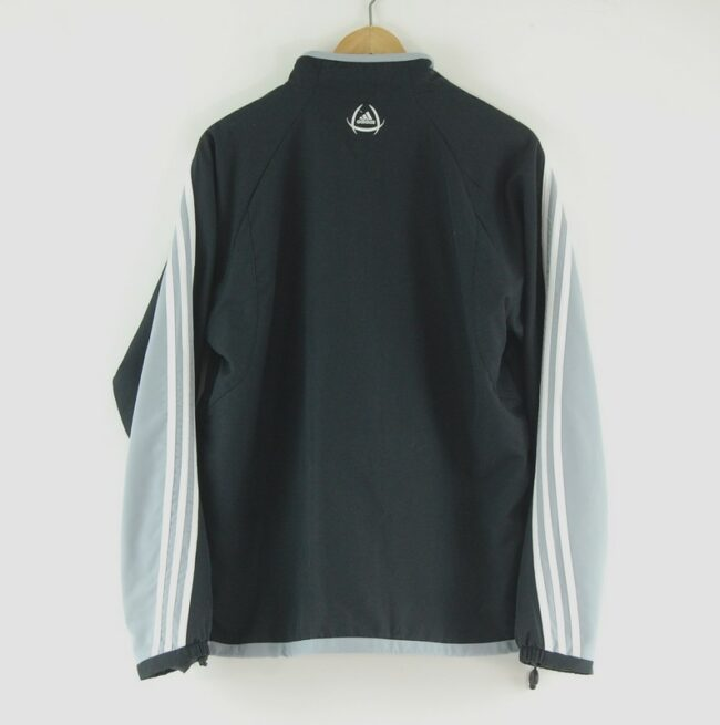 90s Adidas Track Jacket with Patch back