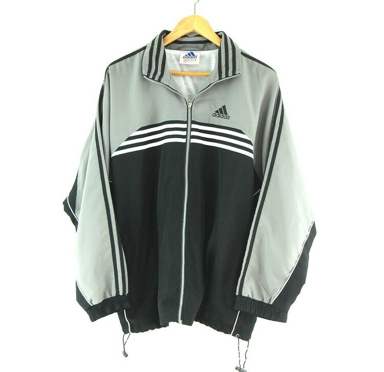 Adidas Track jacket with front stripes