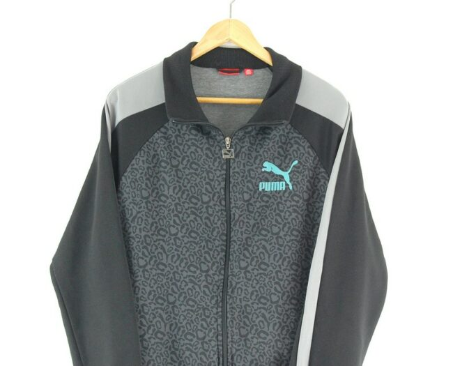 Puma Track Jacket close up