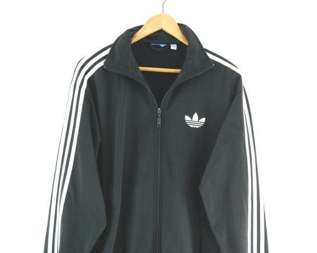 Adidas Track Jacket close up