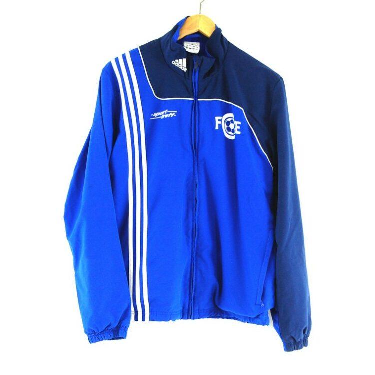 Blue Adidas Track Jacket 2