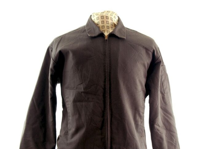 Front close up of Brown Work Jacket