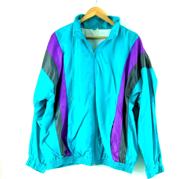Front of Turquoise Shell Suit