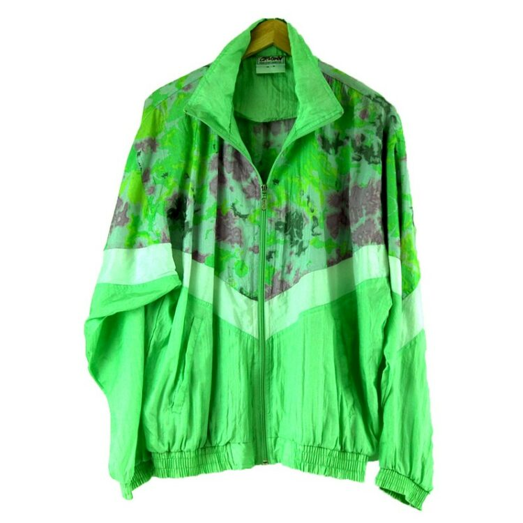 Green Shell Suit jacket