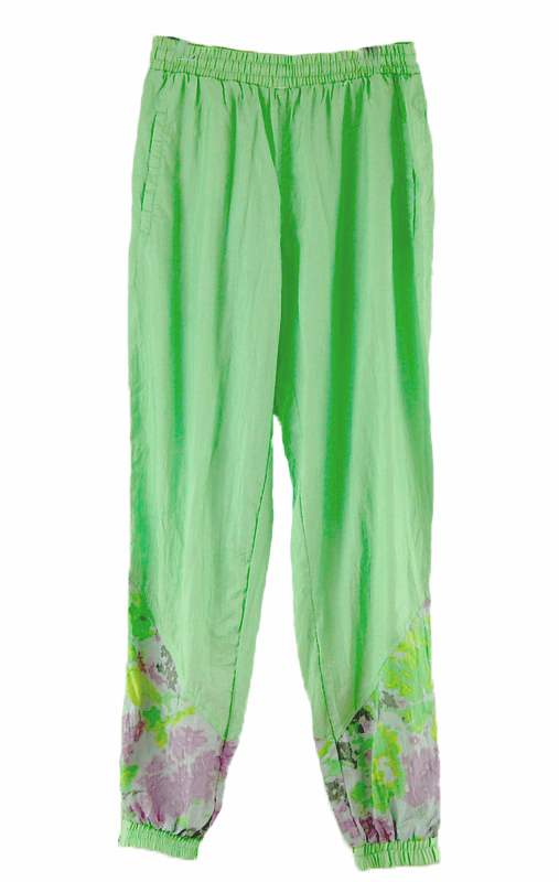 Green Shell Suit trousers
