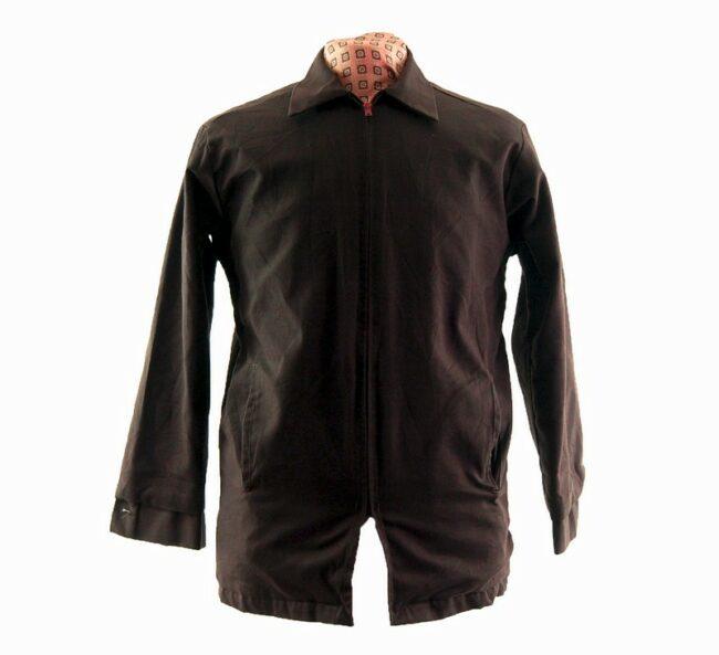 Long Brown Work Jacket