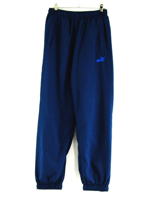 Blue puma Tracksuit Trousers