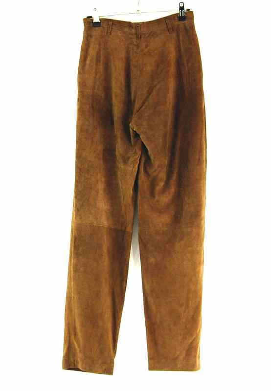 Back of 90s Suede Trousers