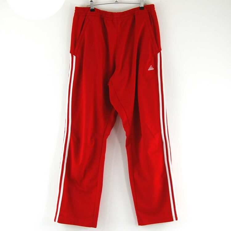 Red tracksuit bottoms