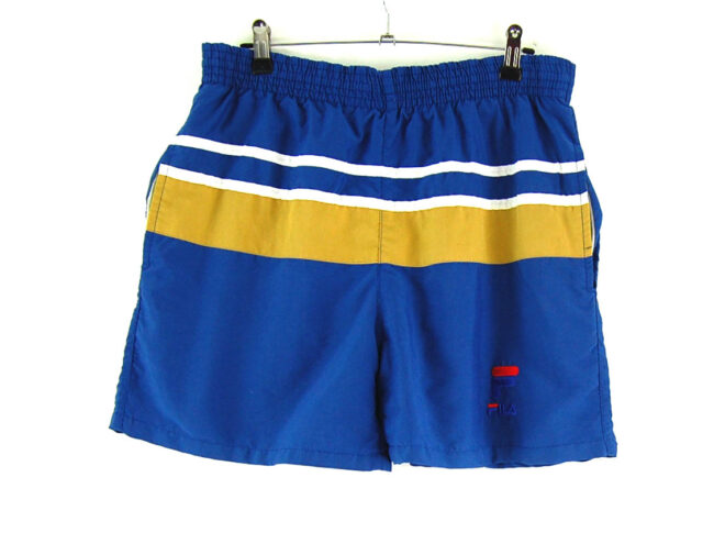 Striped Fila Shorts
