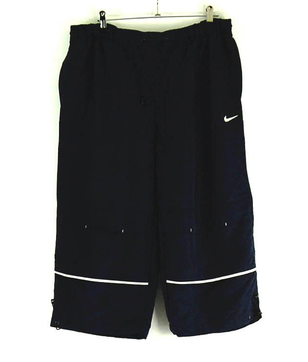 Blue Nike shorts