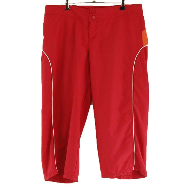 Red Kenvelo 3/4 length shorts
