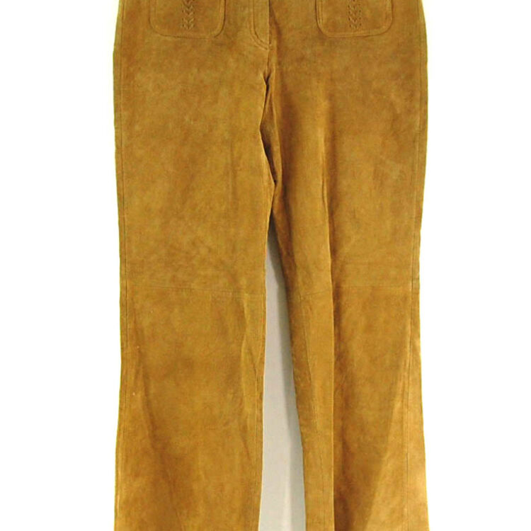 60s Style Suede Trousers