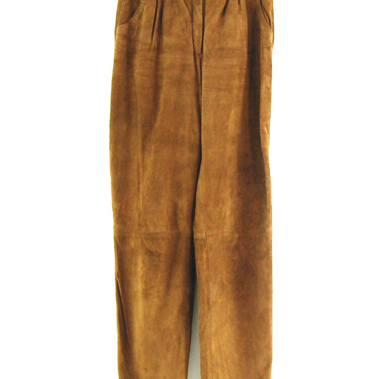 90's Suede Trousers