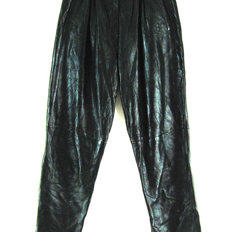 90s Leather Trousers