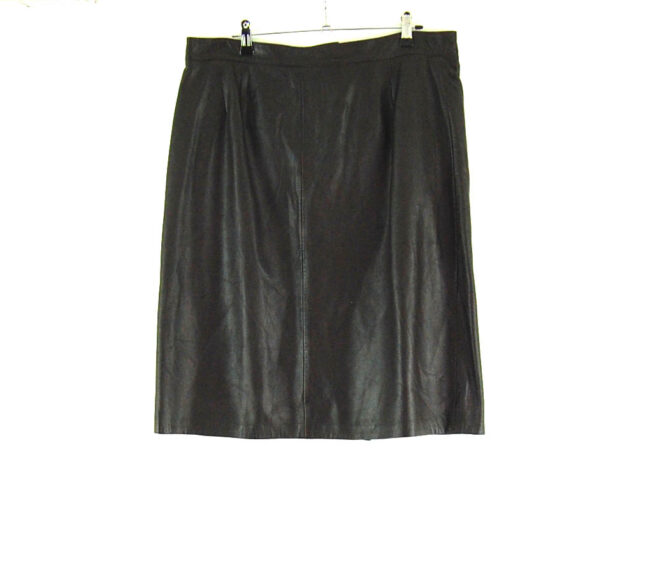90s Leather Skirt
