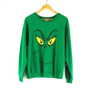 90s Grinch Crew Neck Sweatshirt