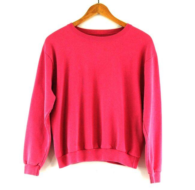 90s Pink Crew Neck Sweatshirt