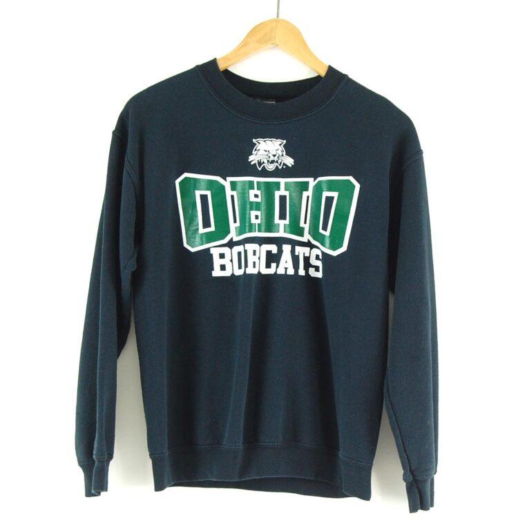 Ohio Bobcats Crew Neck Sweatshirt