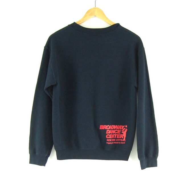 'BDC NYC' Crew Neck Sweatshirt back