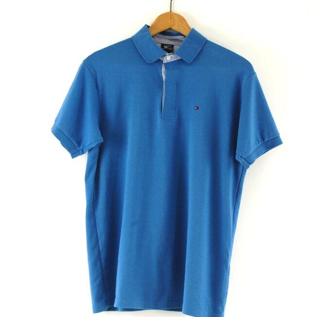 Blue Tommy Hilfiger Polo Shirt