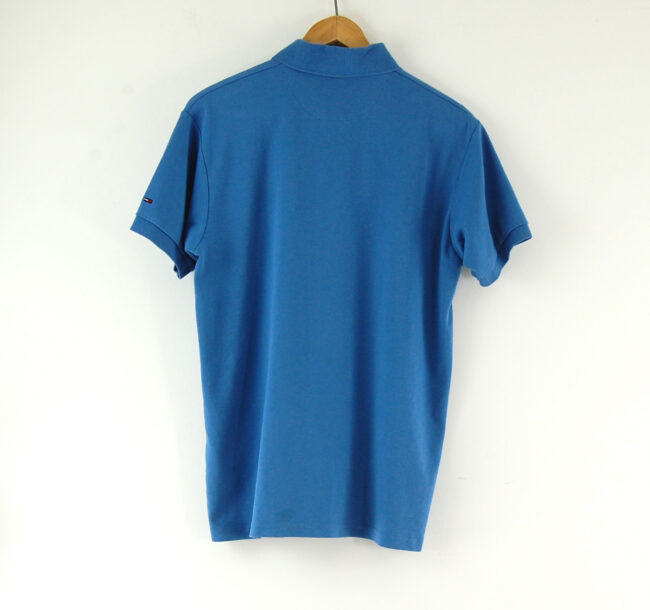 Blue Tommy Hilfiger Polo Shirt back