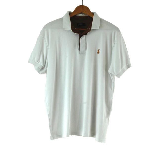 White Tommy Hilfiger Polo Shirt