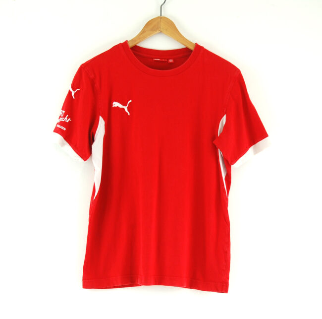 Red puma t-shirt