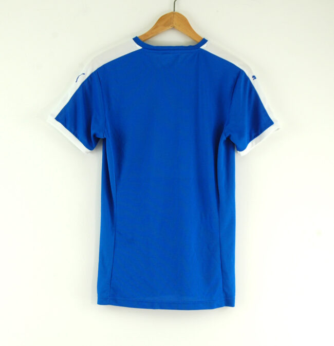 Puma v neck t-shirt back