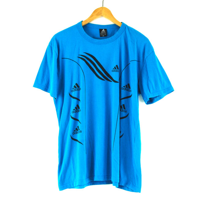 Blue Adidas T-shirt