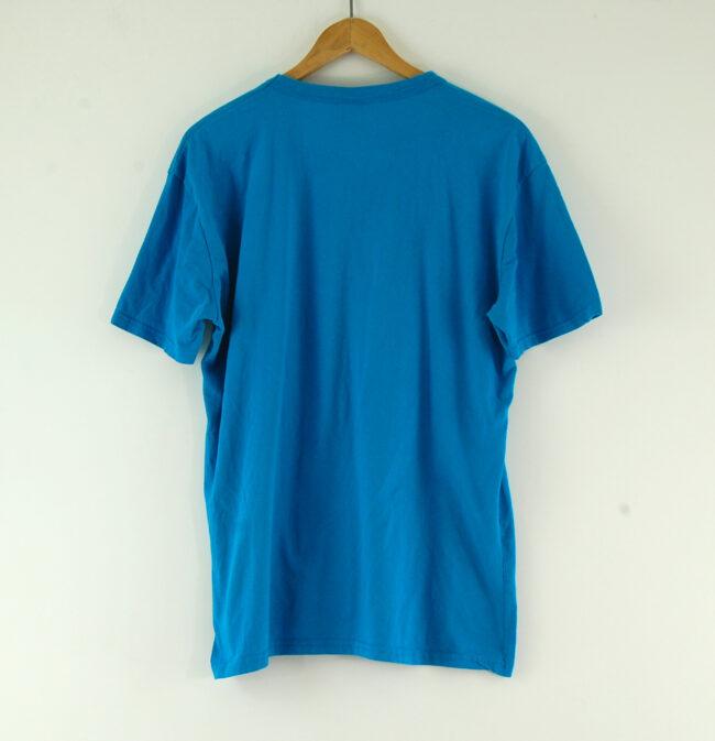 Blue Adidas T-shirt back