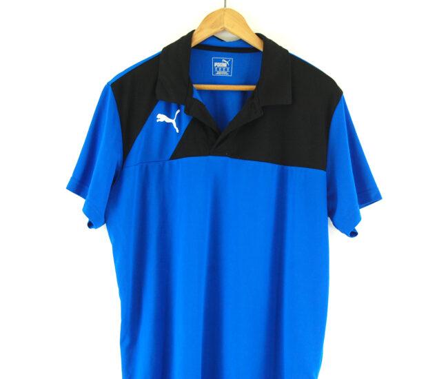 Puma polo shirt close up