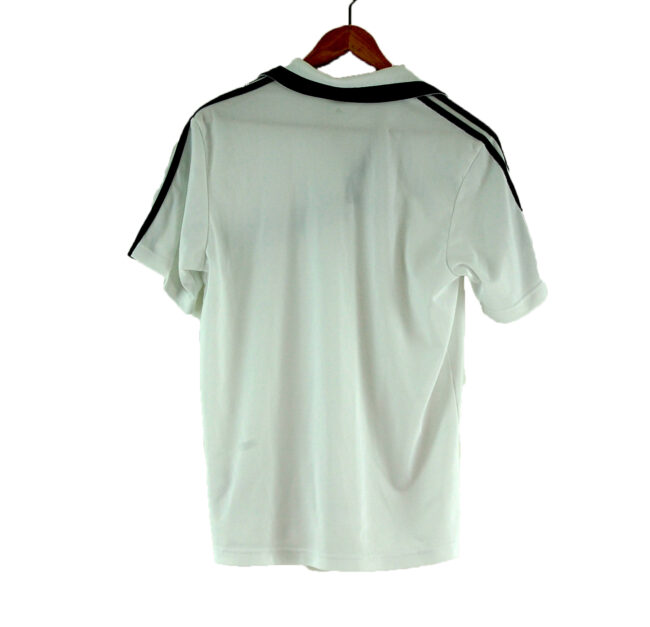 White Adidas Polo Shirt back