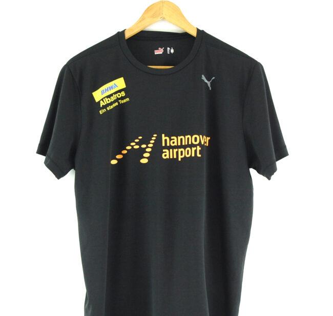 Puma Hannover Airport T-shirt close up