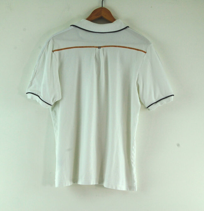 Adidas White Polo Shirt back