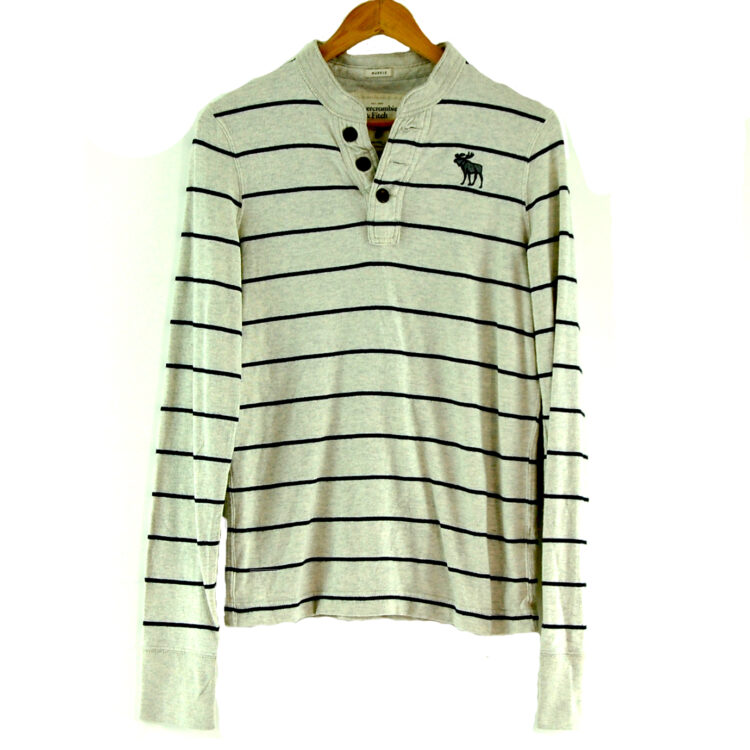 Abercrombie and Fitch Long Sleeve Polo Shirt
