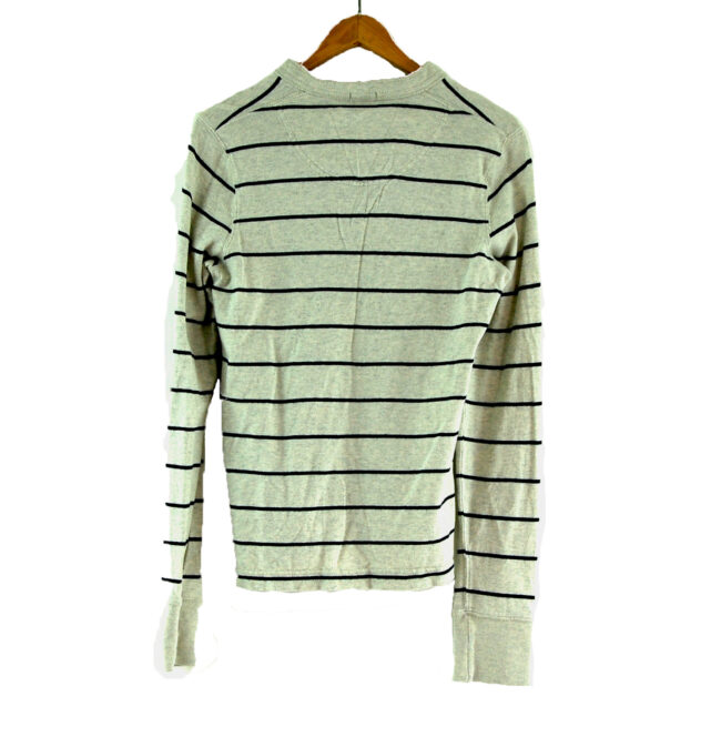 Abercrombie and Fitch long sleeve polo back