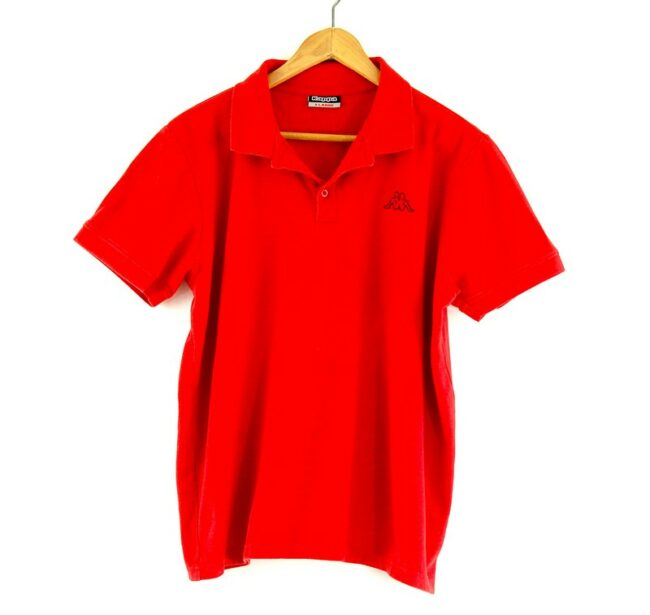 Red Kappa polo shirt