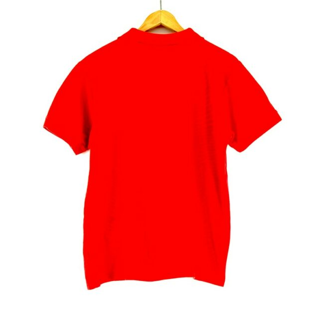 Red Kappa polo shirt back