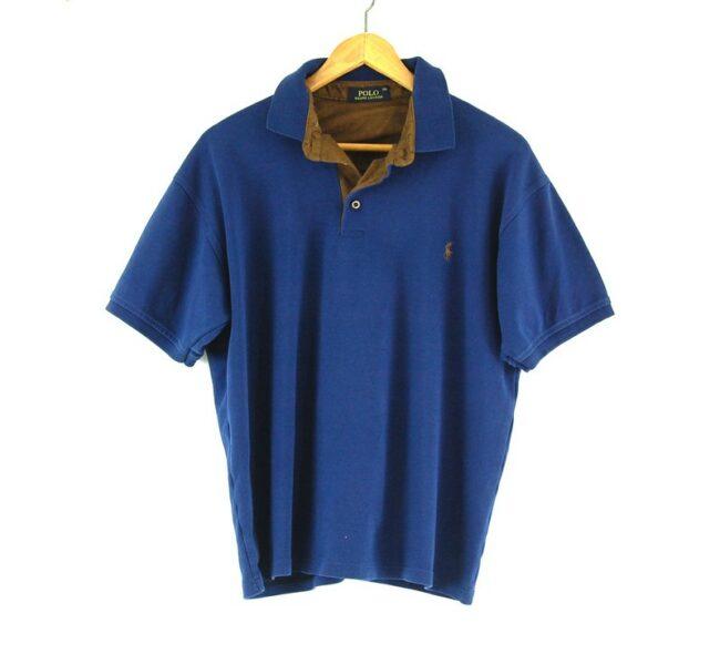 Blue Ralph Lauren polo shirt