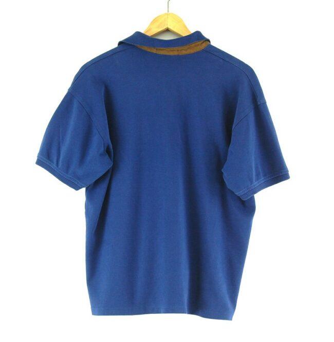 Blue Ralph Lauren polo shirt back