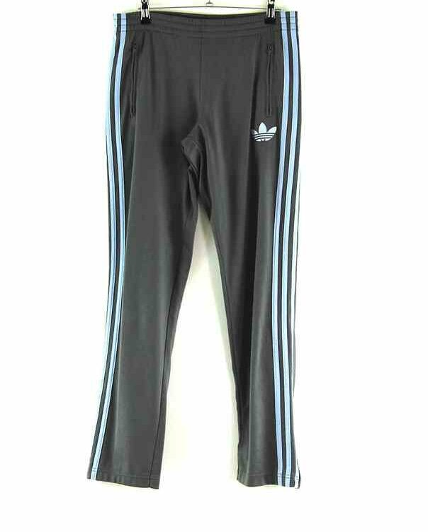 Grey Adidas Tracksuit Trousers