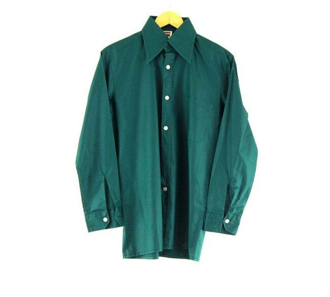 70s Dark Green Shirt