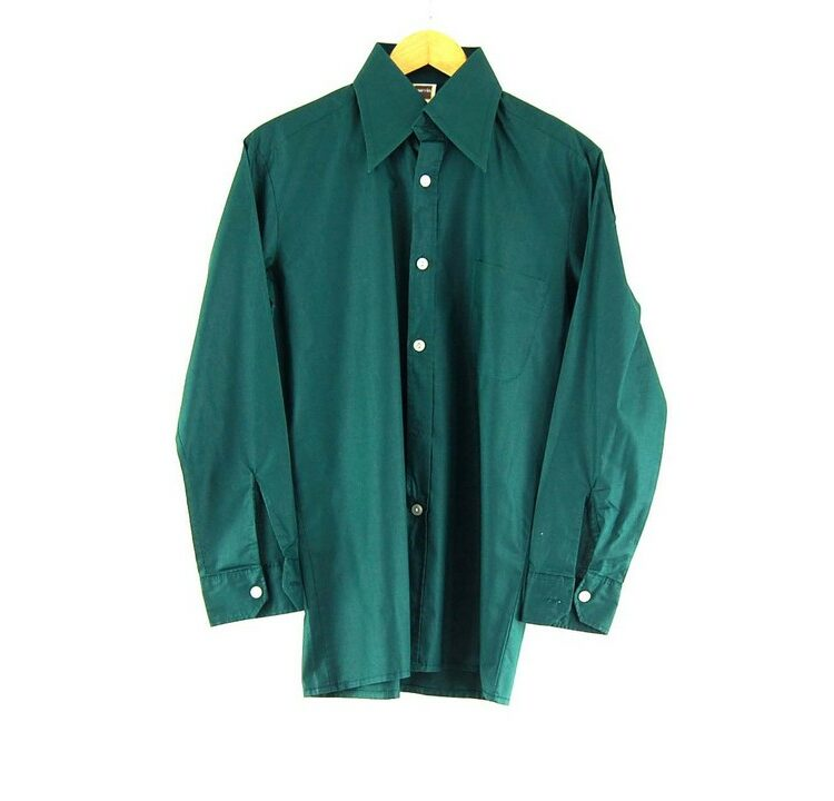 70s Dark Green Shirt