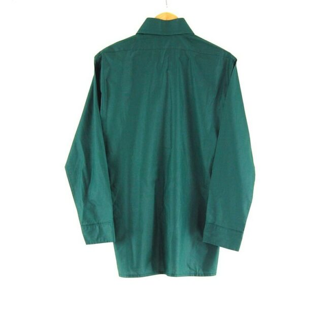 Back Of 70s Dark Green Shirt