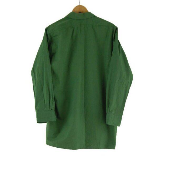Back of 70s Green Safari Shirt