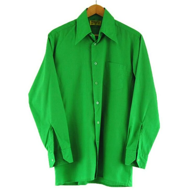 70s Green Shirt