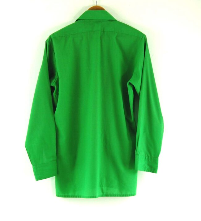 Back of 70's Green Shirt
