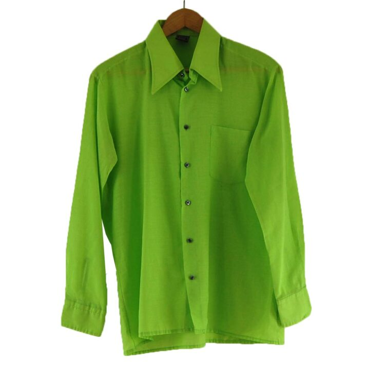 70s Lime Green Shirt