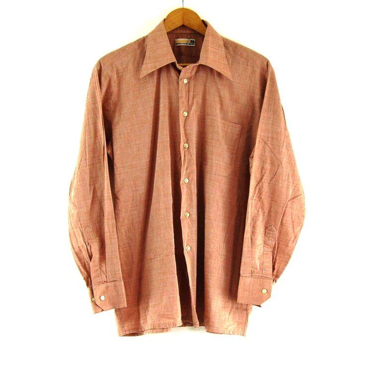 70s Brown Shirt